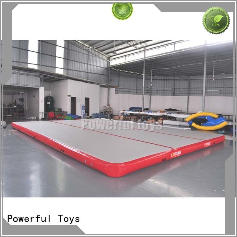 Powerful Toys air track floor cheap price floor