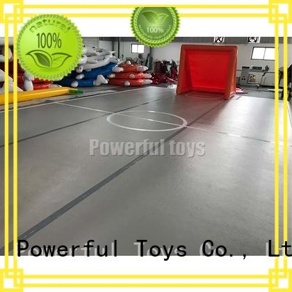 Powerful Toys gymnastic air track tumble for dancing