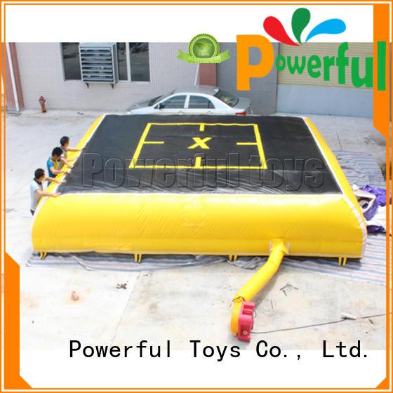 Powerful Toys ramp bmx airbag stunt for sport