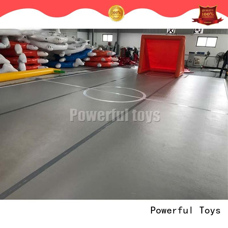 Powerful Toys mini air track tumbling mat quality dancing