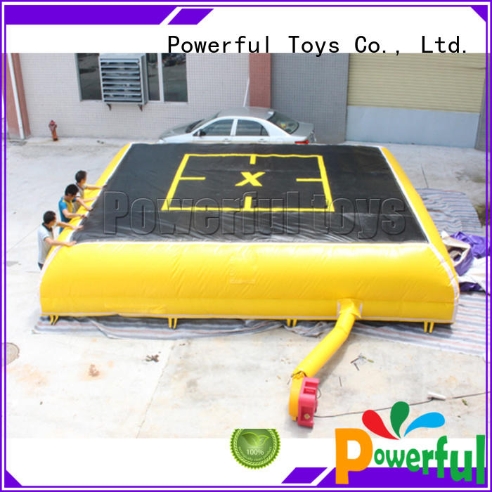 Powerful Toys freestyle bmx airbag ramp for sports