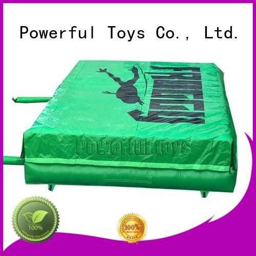 Powerful Toys air cushion airbag design for amusement park