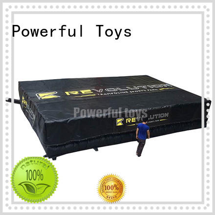 pit foam jump big for wholesale Powerful Toys