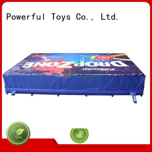 Powerful Toys Brand foam customized airbag freestyle prix landing