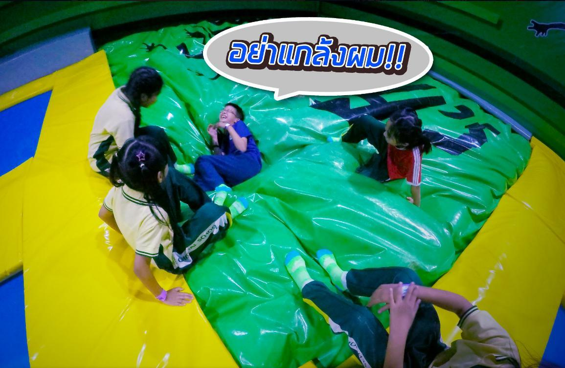 Powerful Toys trampoline air bag cheapest factory price for wholesale-3