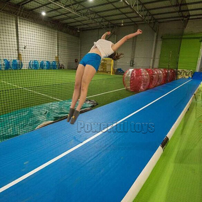 Powerful Toys gymnastic inflatable air track floor-2
