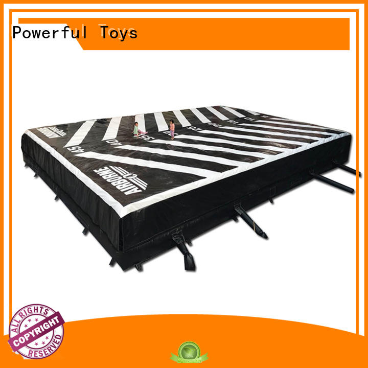 Powerful Toys foam pit airbag cheapest factory price