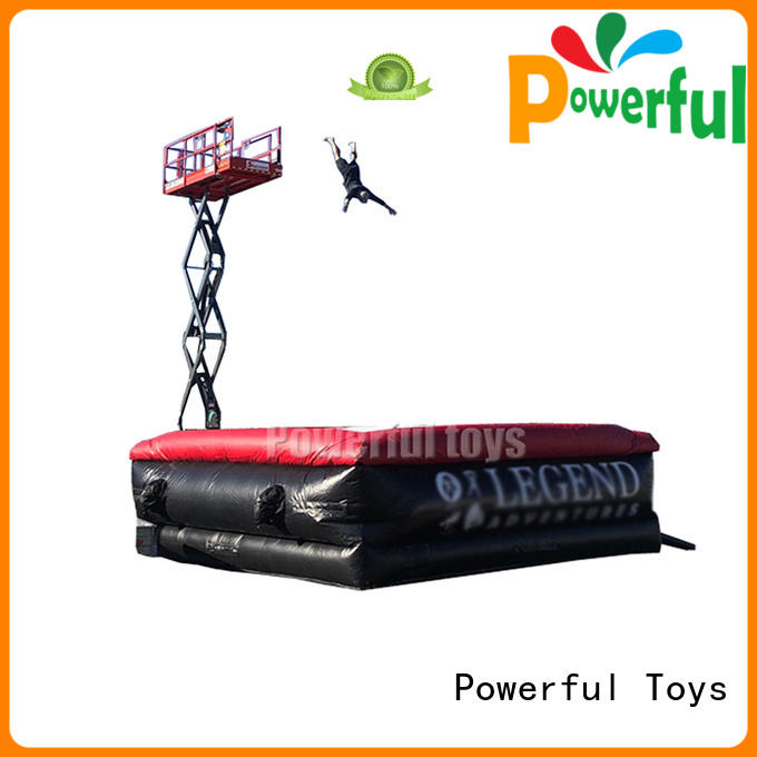 Powerful Toys customized the jump zone park for park