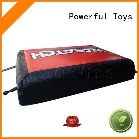 bike bicycle bmx airbag inflatable Powerful Toys company