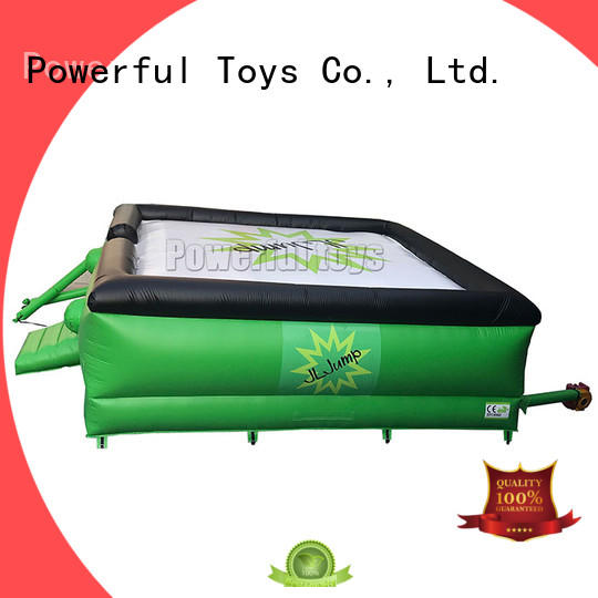 Powerful Toys professional free fall jump freedrop for park