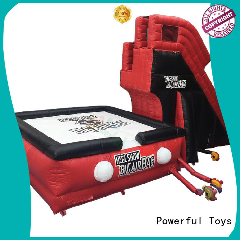 Powerful Toys professional air stunt for skateboard