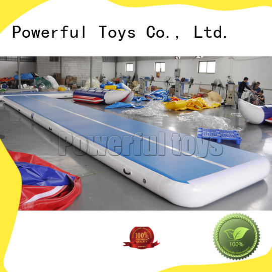 Powerful Toys longest air track gymnastics mat price for game
