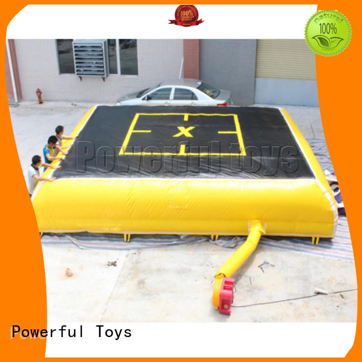 Powerful Toys wholesale air bag snowboard bicycle for sport