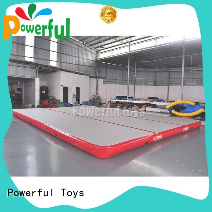 inflatable gymnastics mat tumble for dancing Powerful Toys