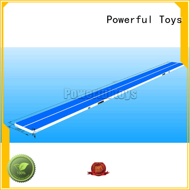 Powerful Toys gymnastic air factory gymnastics for cheer leading