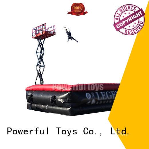 Powerful Toys jump safety air bag jumping