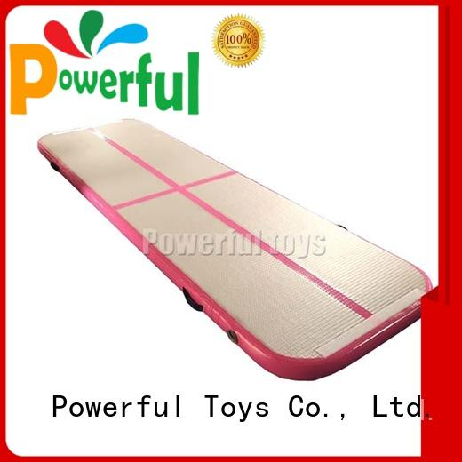 Powerful Toys inflatable air track gym top selling for club