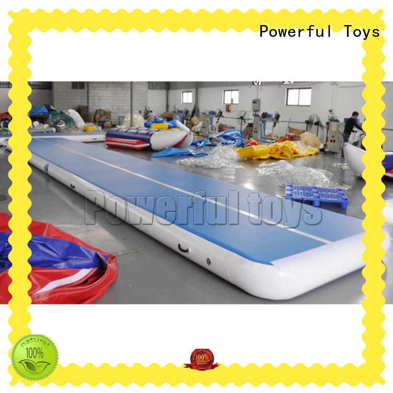 Powerful Toys longest air track slip and slide tumble for club