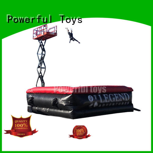 Powerful Toys freestyle airbags freed-rop for park