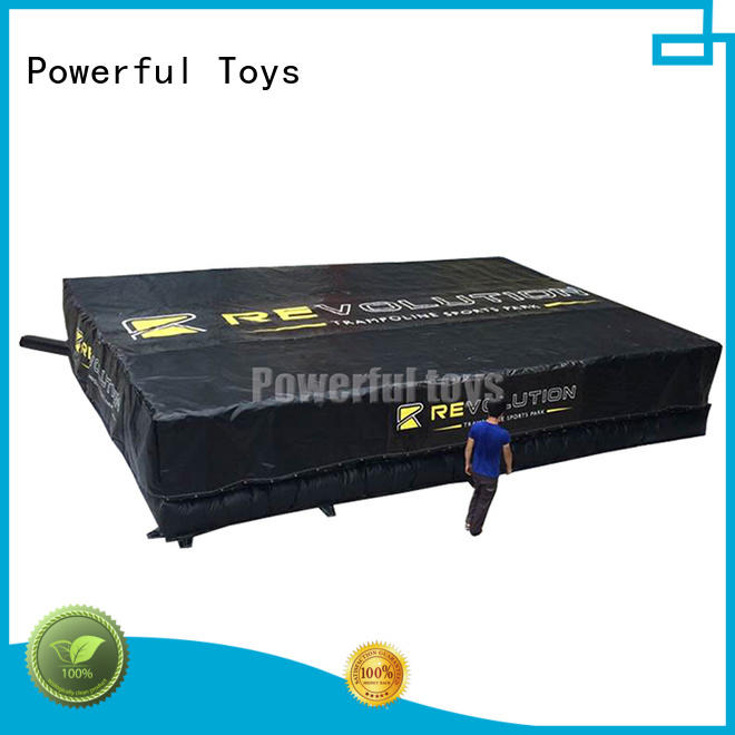 Powerful Toys top quality trampoline airbag for sale