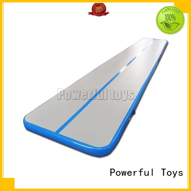 Powerful Toys mini tumble track trampoline hall products floor