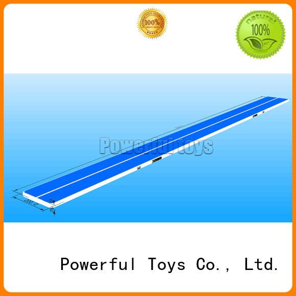 Powerful Toys mini air track gymnastics gymnastics for game