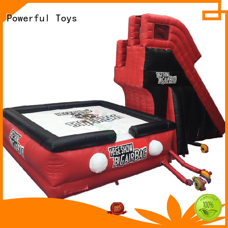 customized stunt airbag jumping for skateboard Powerful Toys