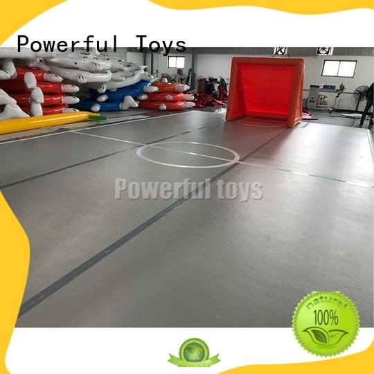 Powerful Toys trampoline small air track gym for game