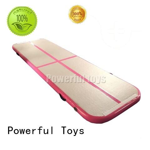Powerful Toys inflatable air track tumbling mat hall products for game
