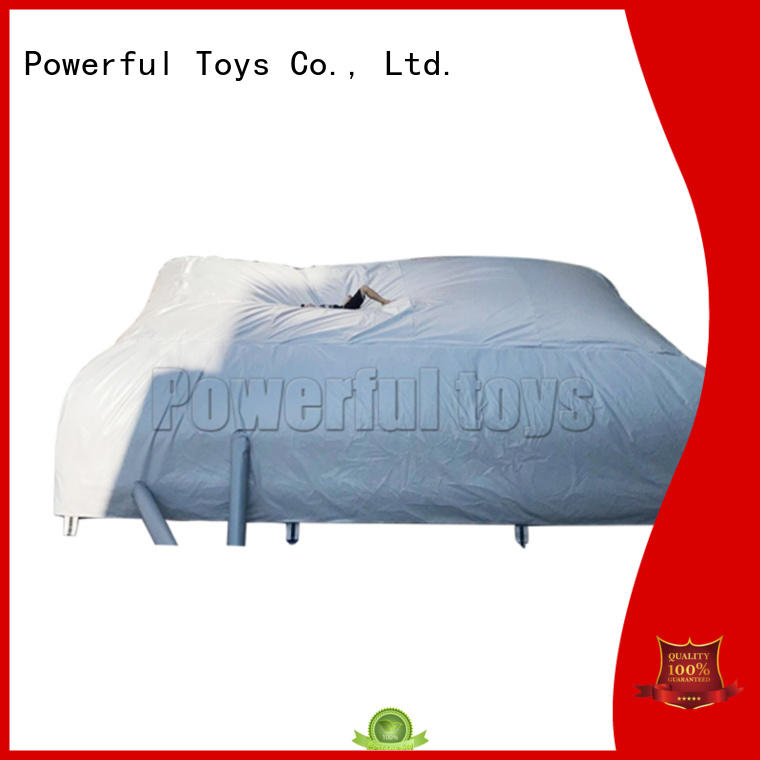 Powerful Toys snowboard airbags for sport