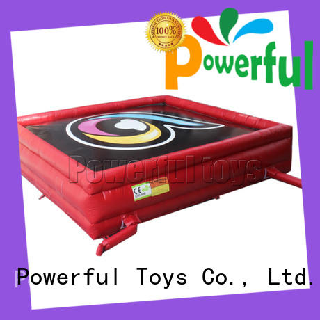 Powerful Toys professional safety air bag park for sports