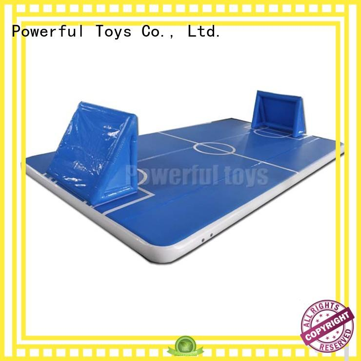 inflatable small air track for club