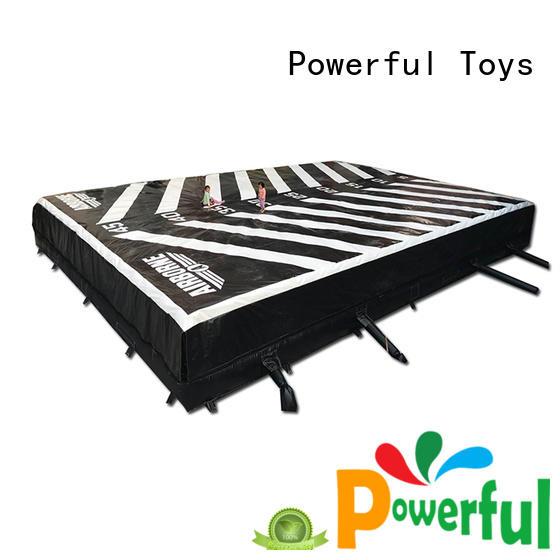 Powerful Toys air cushion air jump for amusement park