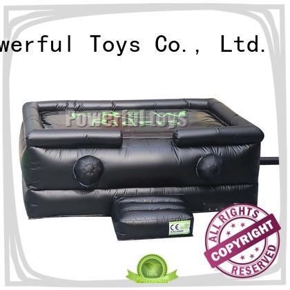 Powerful Toys stunt airbag platform for adventure