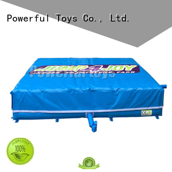 park trampoline airbag at discount for amusement park