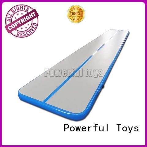 tumble quality training air track gymnastics price Powerful Toys manufacture