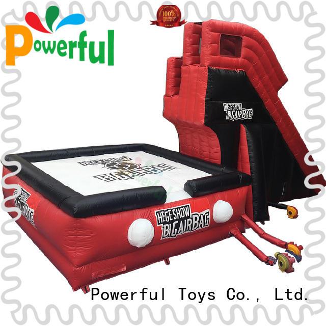 Powerful Toys customized jump airbag snowboard snowboard