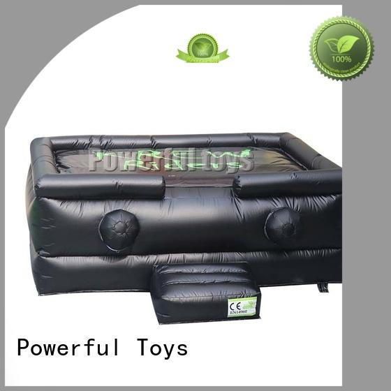 Powerful Toys Brand jumping snowboard jump zone trampoline jump factory