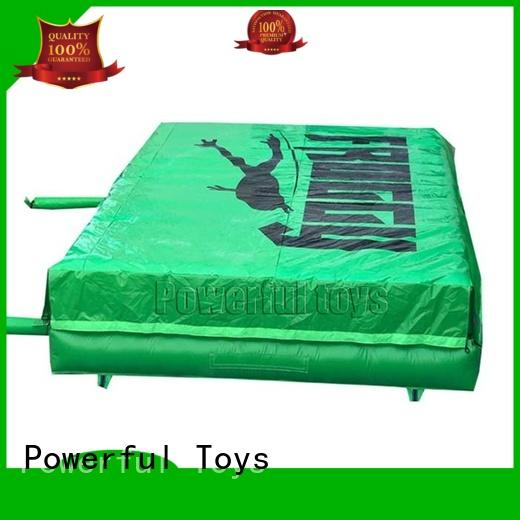 Powerful Toys supplier foam pit airbag bulk for sale