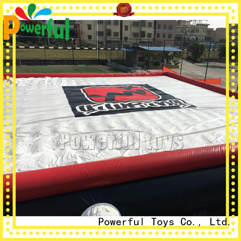 inflatable jumping airbag fall for adventure