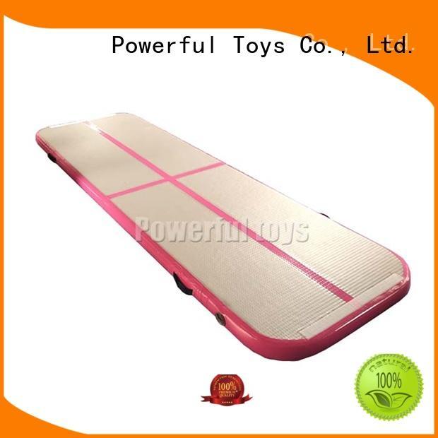 Powerful Toys gymnastics air track gym mattress for club