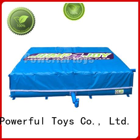 Trampoline park jumping air cushion