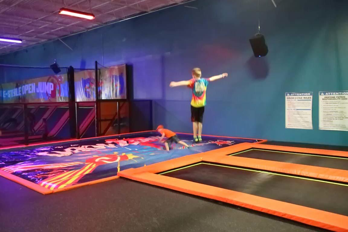 Powerful Toys airbag trampoline bulk for wholesale-3