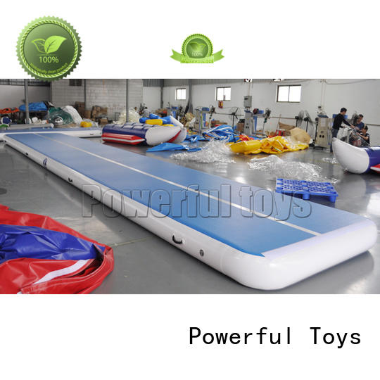 Powerful Toys longest gym mat for cheer leading