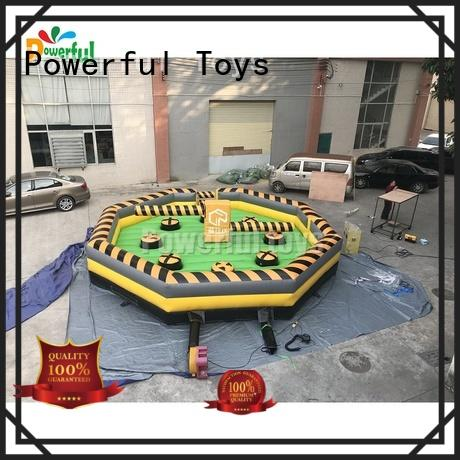 Powerful Toys wipeout inflatable outdoor for fun