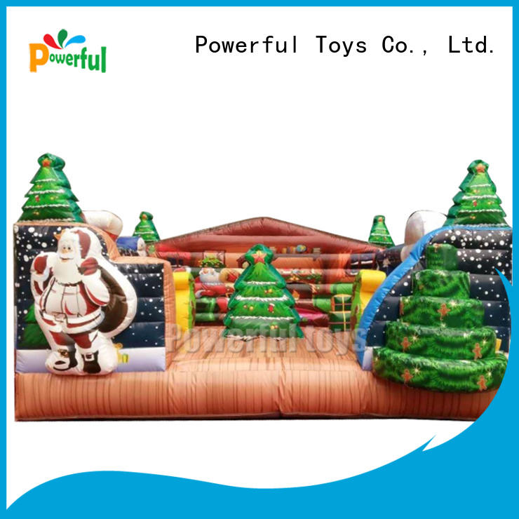 Powerful Toys inflatable bouncy castle top selling for customization