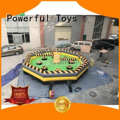 Powerful Toys wipeout inflatable light weight best factory price