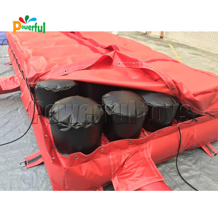 OEM airbag trampolineat discount for amusement park