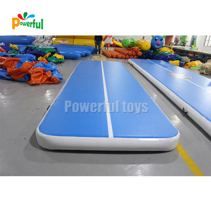 6m airtrack inflatable mini air track mat for gym training