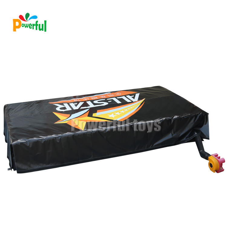 Wholesaler soft inflatable foam pit jump airbag